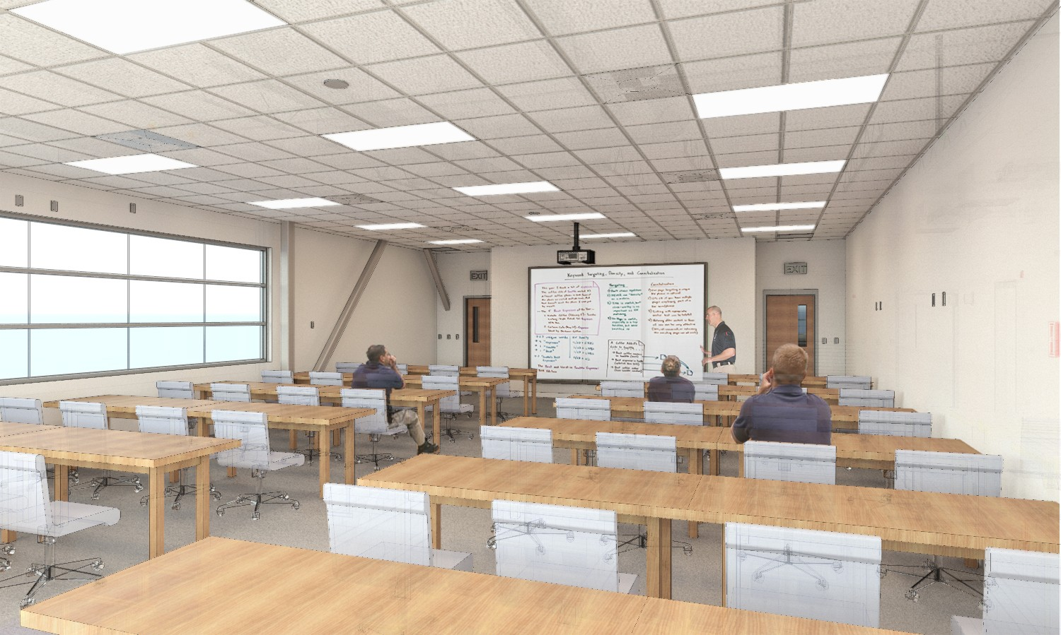 Beautiful Interior Design Training Part - 14: ... The Facility Will Meet Their Current And Future Needs, While Serving As  A Flagship Model For Training Facilities Of Its Kind For Years To Come.